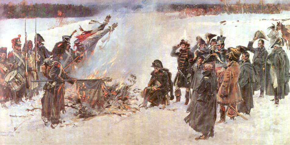 WKossak Burning of Standarts before Napoleon.jpg