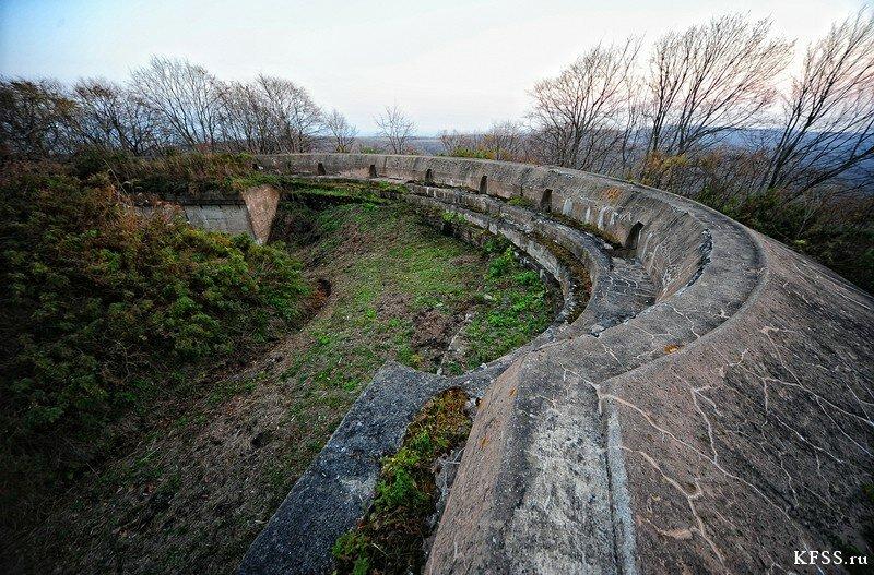 Форт №12 Владивостокской крепости kfss стрелковый бруствер