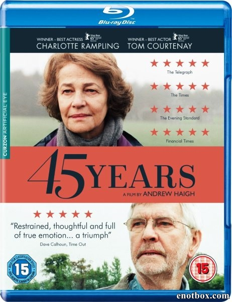45 лет / 45 Years (2015/BDRip/HDRip)