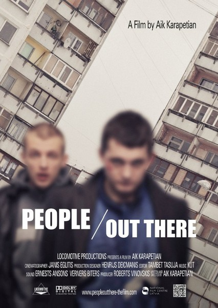 Люди там / Cilveki tur (2012) IPTVRip