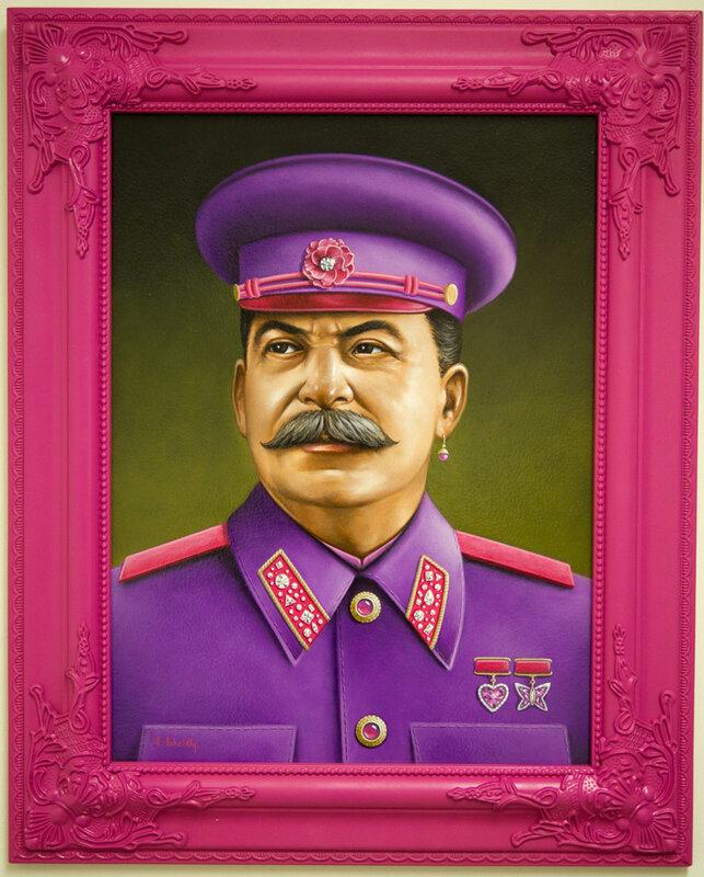 Сталин в розовом