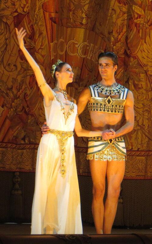 Светлана Захарова - Руслан Скворцов, дочь фараона большой театр, билеты дочь фараона