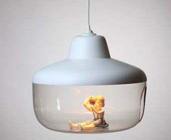 Из старых игрушек - лампа