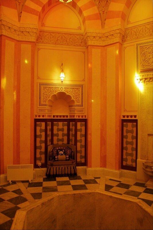 Турецкая баня в Екатерининском парке, Купольный зал