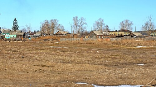 """Деревня """"Олонки"""" на Ангаре."""