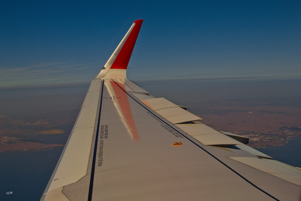 Стамбул 2015 - Авиаперелет Москва-Стамбул - Стамбул