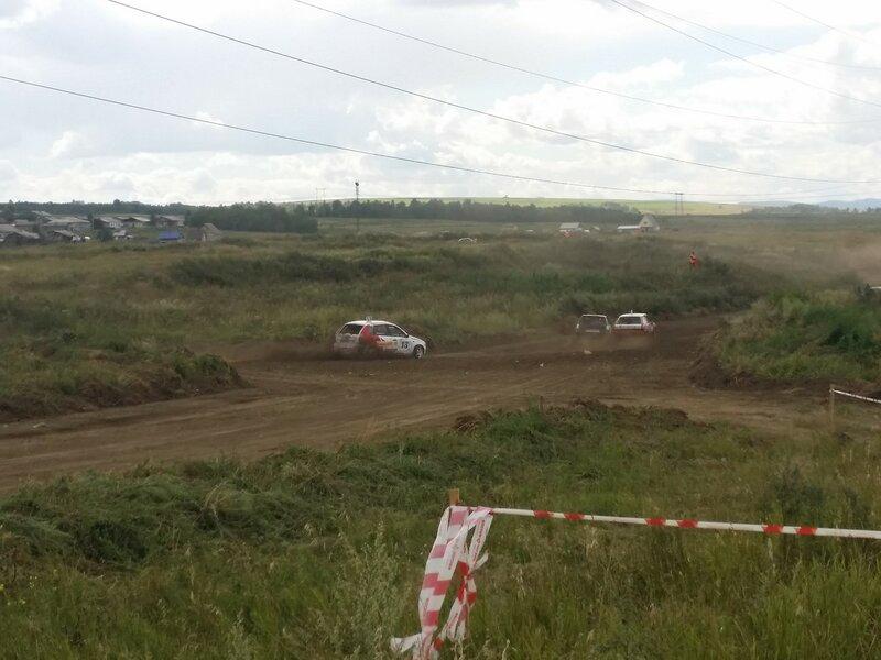 3 этап чемпионата СФО по автокроссу 16 августа 2015