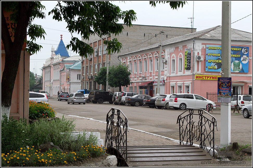 В центре Уссурийска