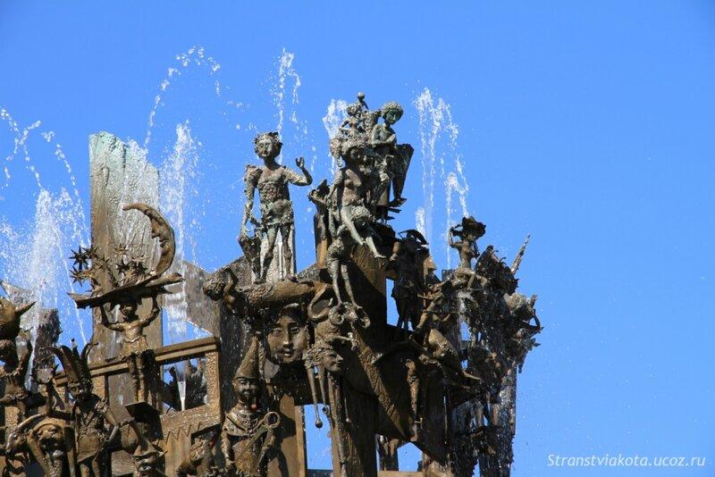 Германия, Майнц, Карнавальный фонтан