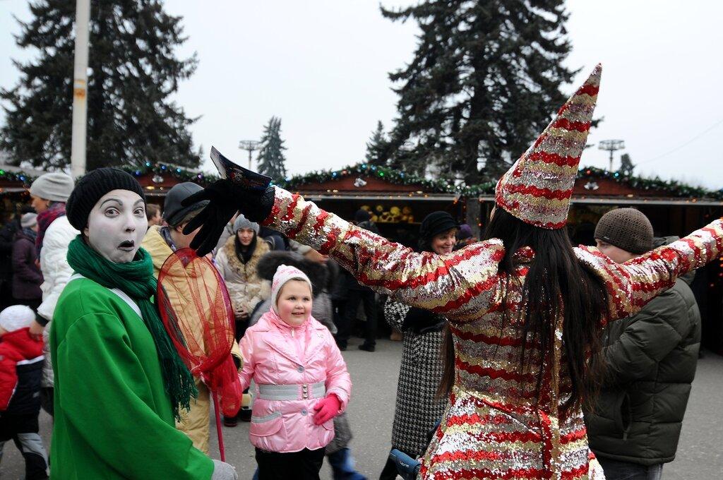 Рождественская ярмарка на ВВЦ