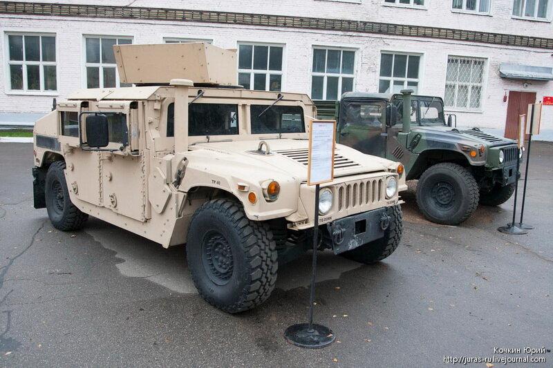 Хаммеры. Технический облик военного автомобиля многоцелевого назначения XXI века