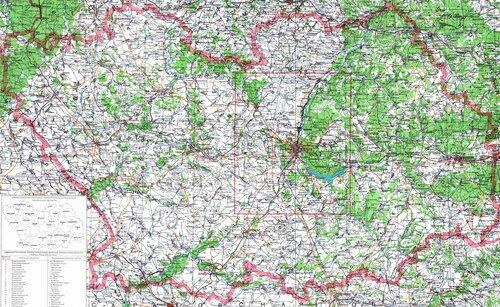 Подробная карта Пензенской области, щелкните на изображении для просмотра оригинала