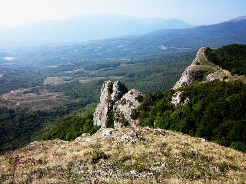 Вид на долину с Демерджи