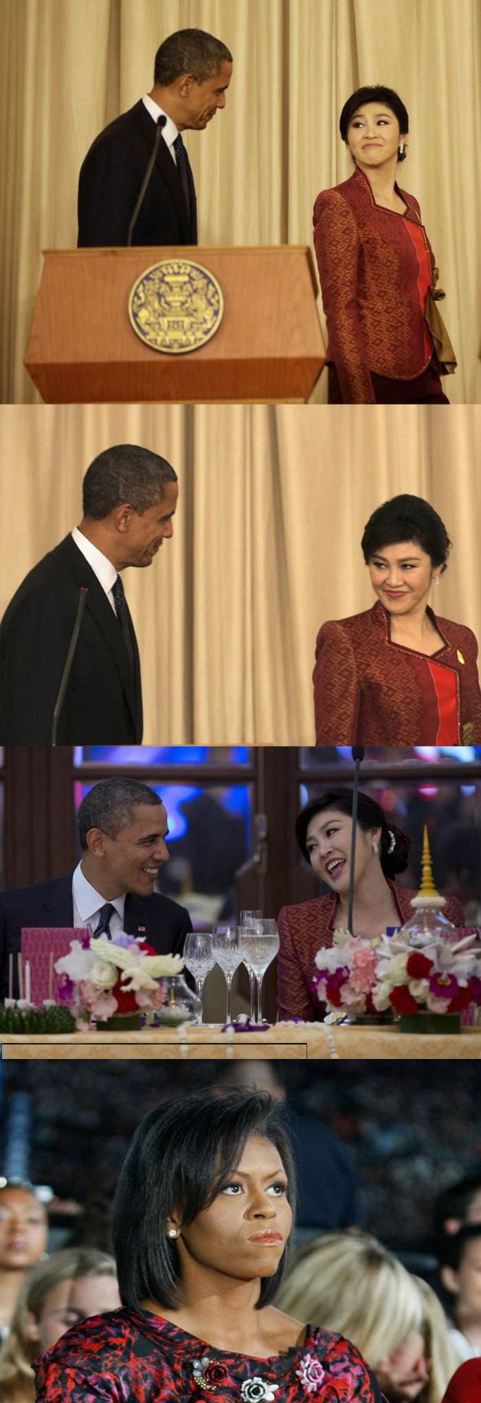 Обама флиртует