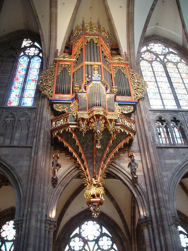 Страсбургский собор. Орган