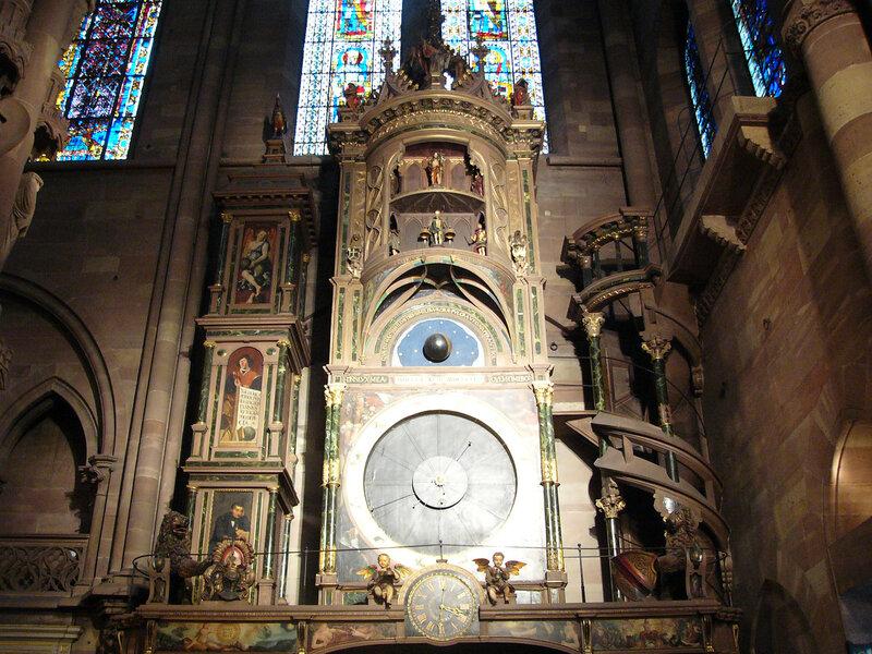 Страсбург. Астрономические часы