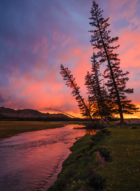 Монгольский закат