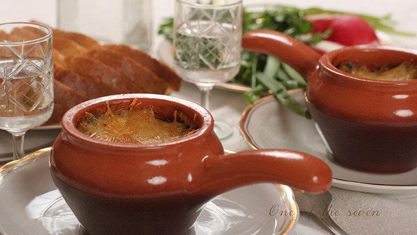 Жульен, горячий салат, закуска