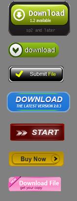 создание кнопок для веб сайта