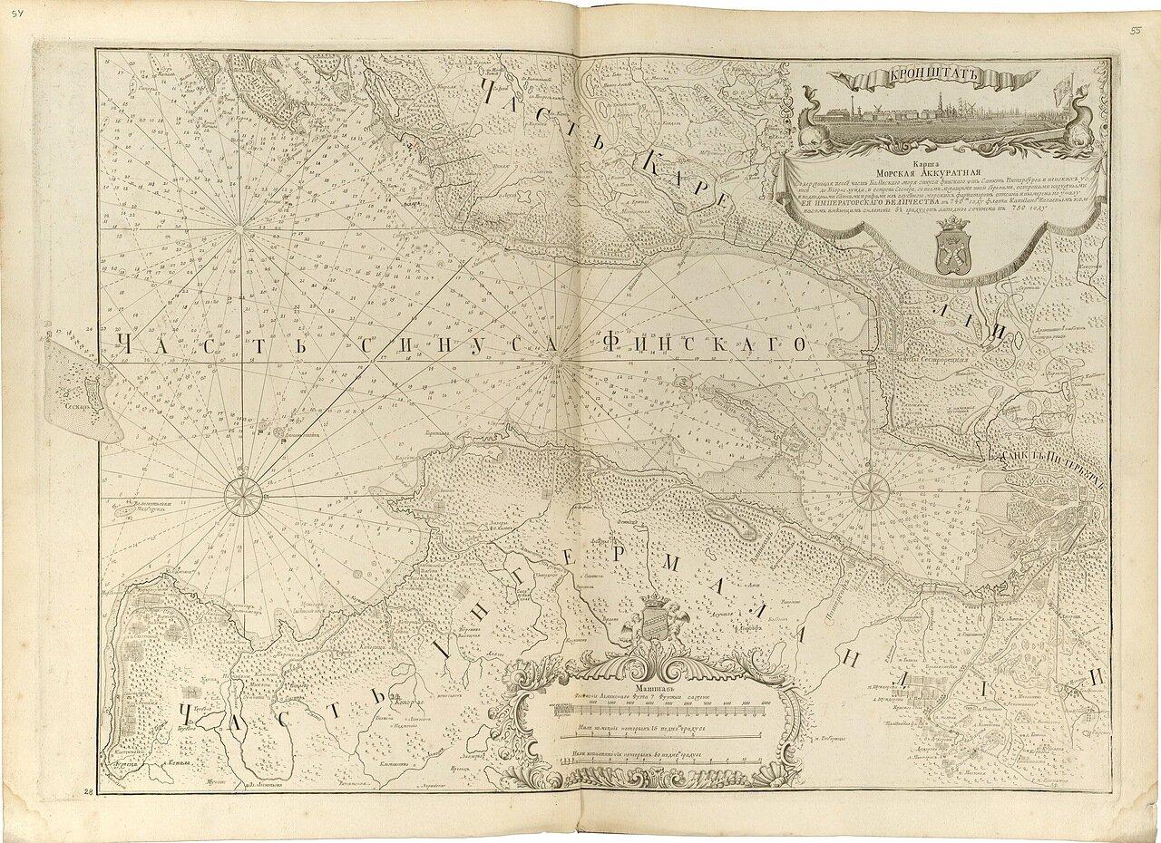 17.  Карта морская аккуратная