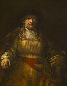 Rembrandt_Before, Self-Portrait, 1658, Rembrandt Harmenszoon van Rijn(1606-1669)
