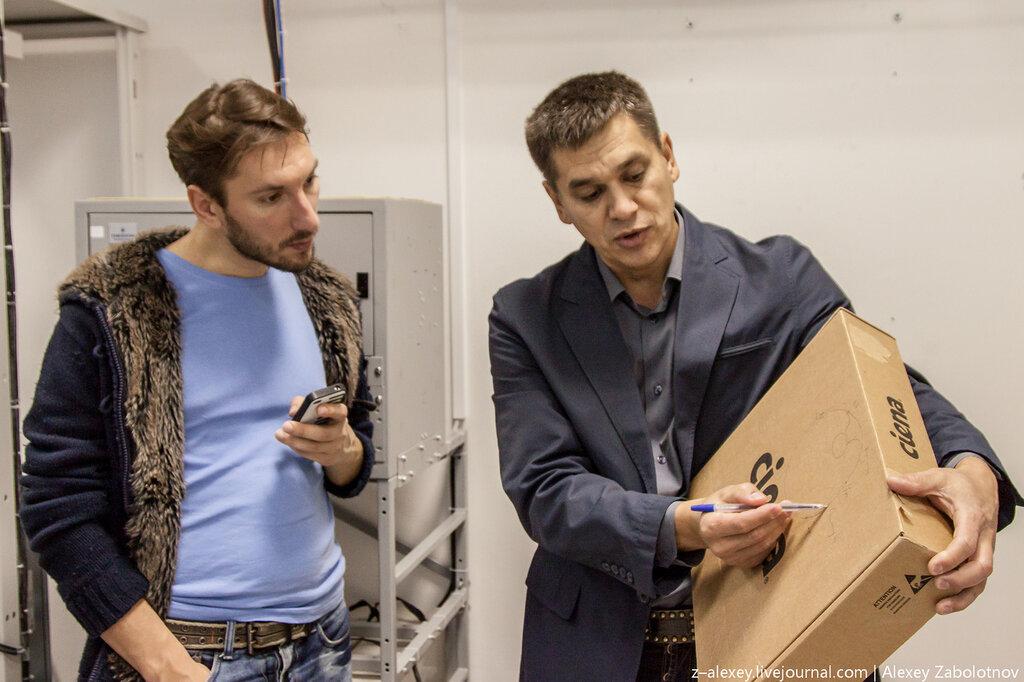 Данилов Владимир (директор Чебоксарского Билайн) рассказывает Марку про круги