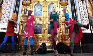 Pussy Riot предложили мировое турне за € 600 миллионов
