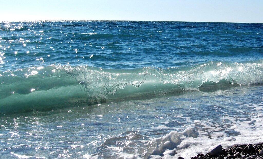 Изящный завиток волны...