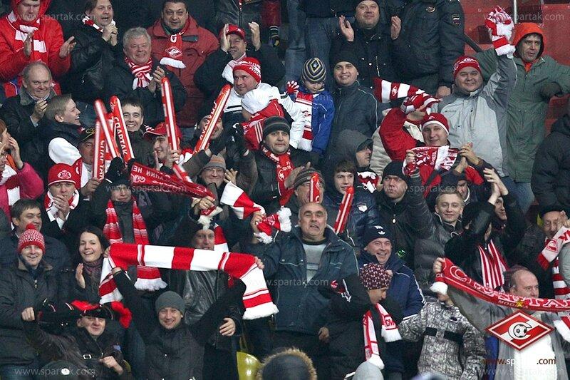 «Спартак» vs «Бенфика» 2:1 Лига чемпионов 2012-2013 (Фото)