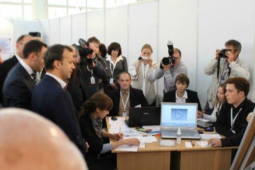 На Международном бизнес саммите Нижний Новгород 2012