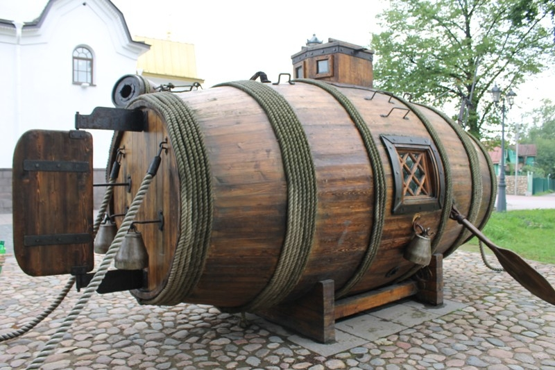 0 71be0 9e89ca0a orig Первая российская подводная лодка