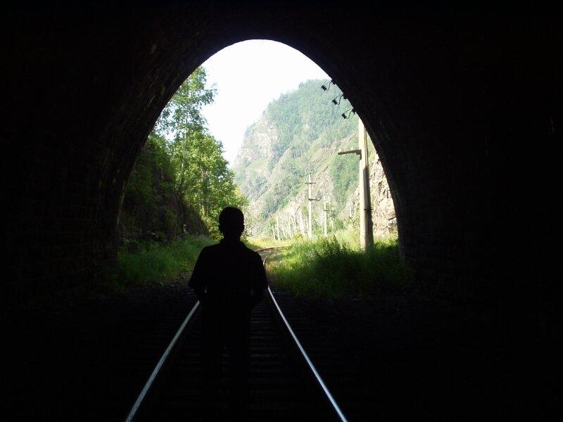 Туннель на КБЖД
