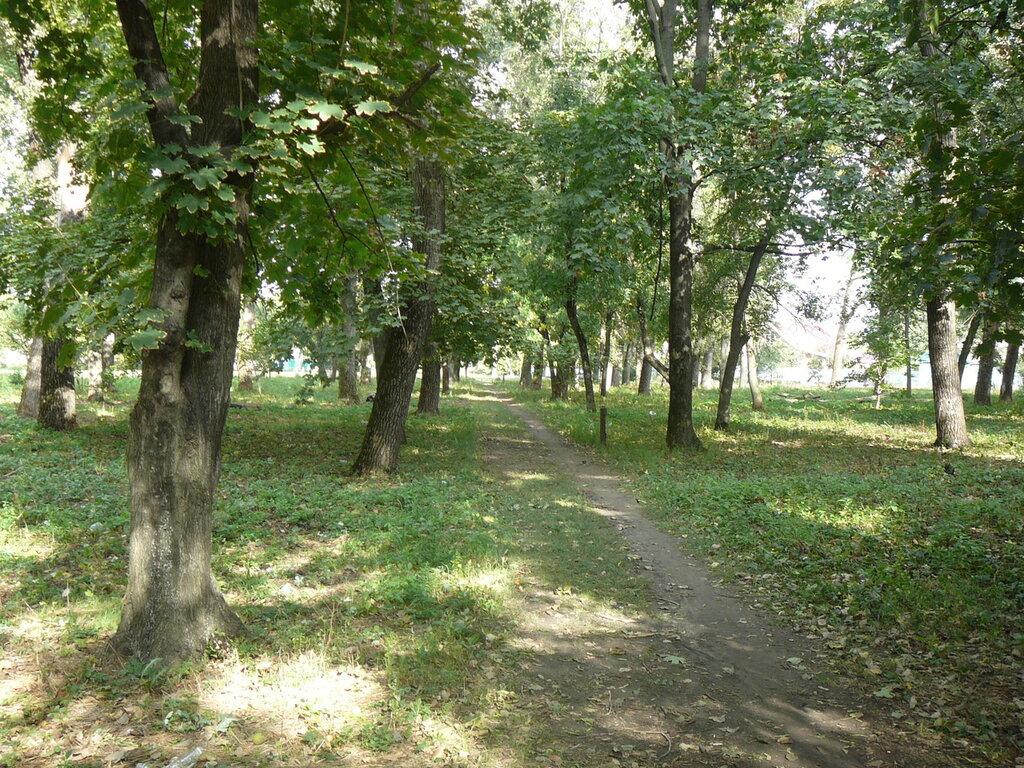 Дорожка в северо-западную часть парка