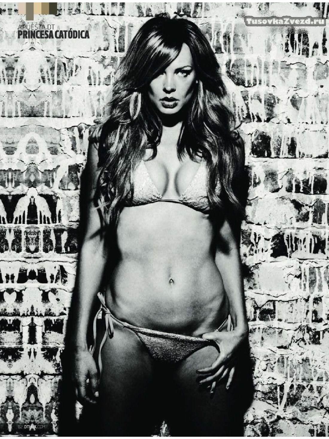 Наташа Алам (Natasha Alam) эротическая фото сессия для журнала DT Испания, июнь 2011