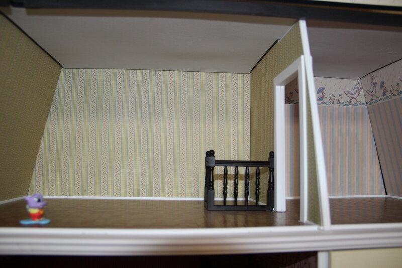 Дом Мечты №55 Столовые приборы, лестница