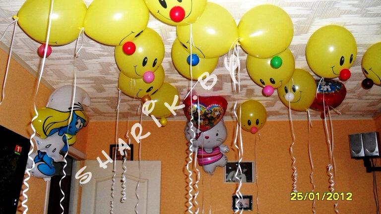 Оформление воздушными шарами детских праздников. Уникальное украшение детских праздников, юбилеев, зала к юбилею. Оформление пра