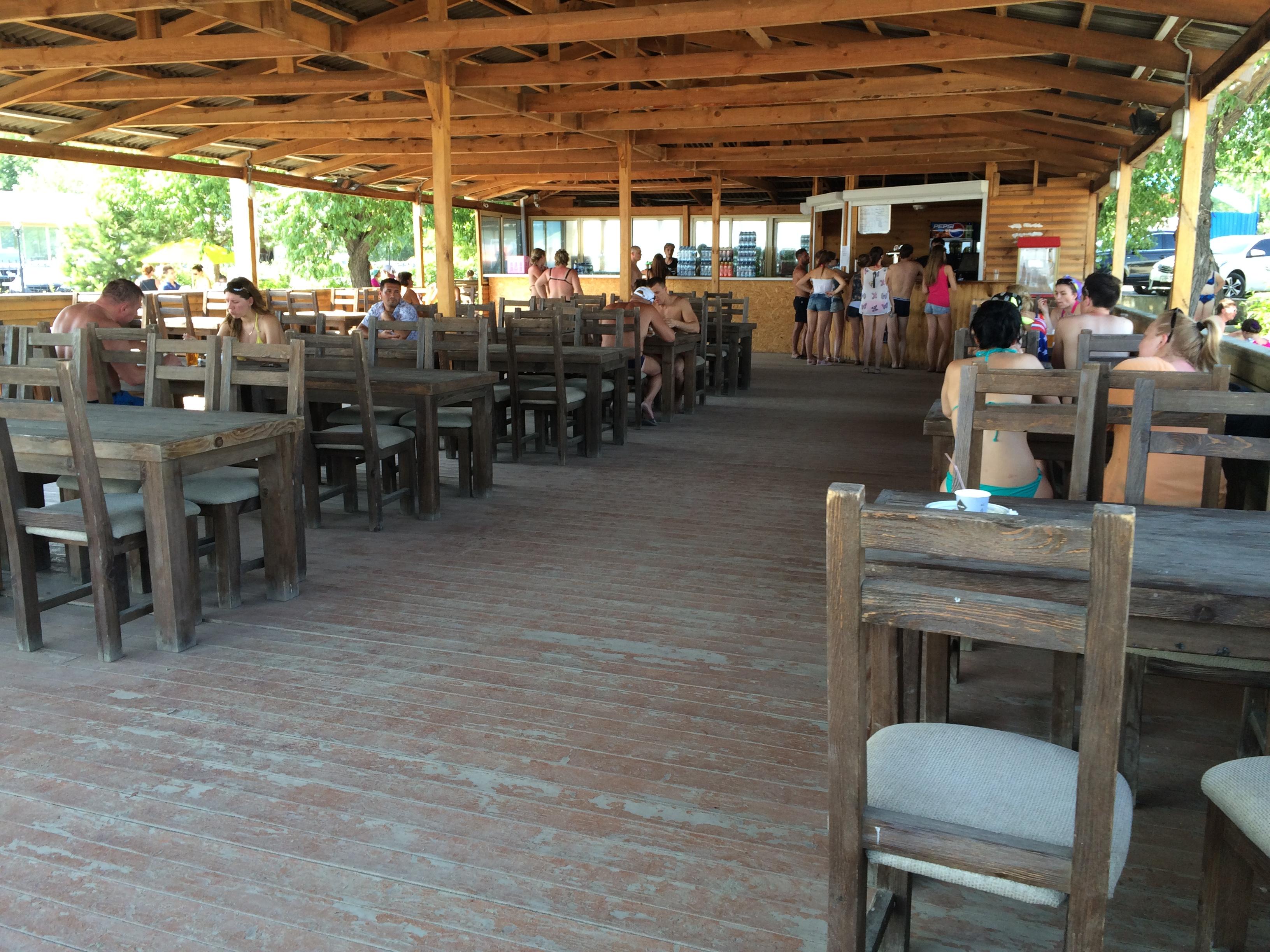 Кафе на пляже ″Западный″ (22.06.2015)
