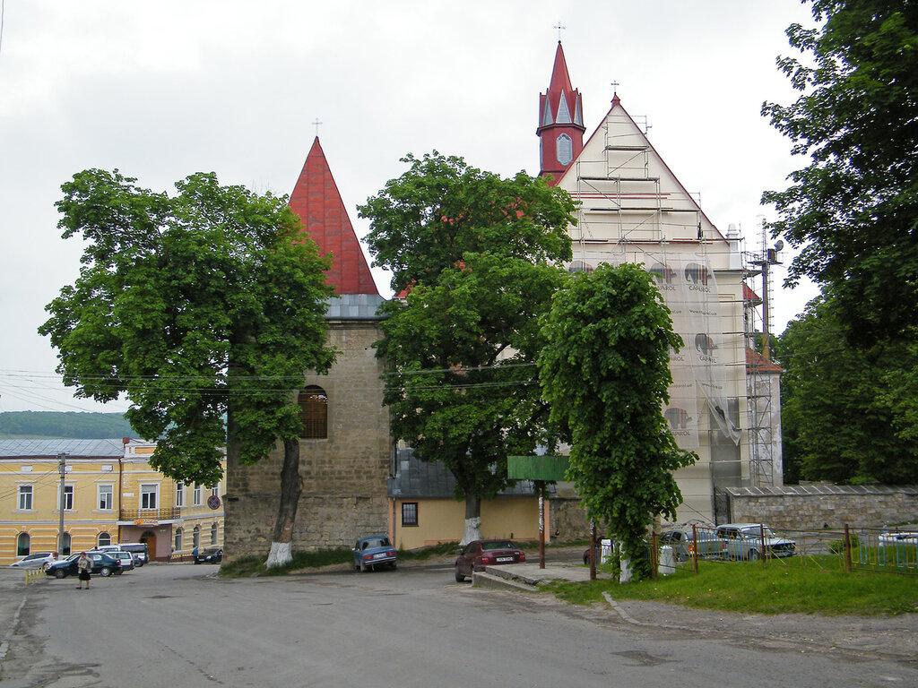 город Бережаны, города Украины