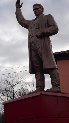 Фото города Инта №1993  Памятник Сергею Мироновичу Кирову 07.10.2012_14:00