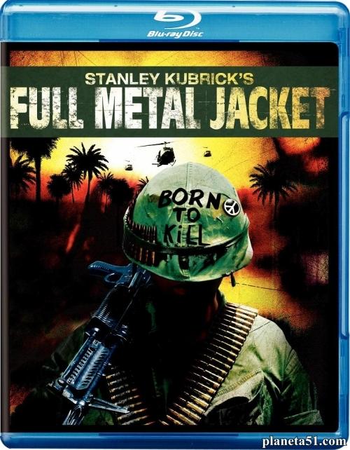 Цельнометаллическая оболочка / Full Metal Jacket (1987/BDRip/HDRip) + AVC