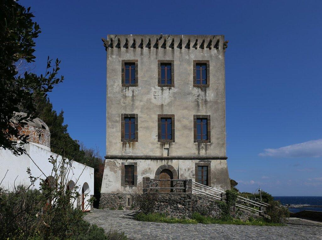 Ischia. Michelangelo tower or Torre di Guevara