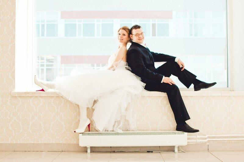 Они присутствовали в букете невесты