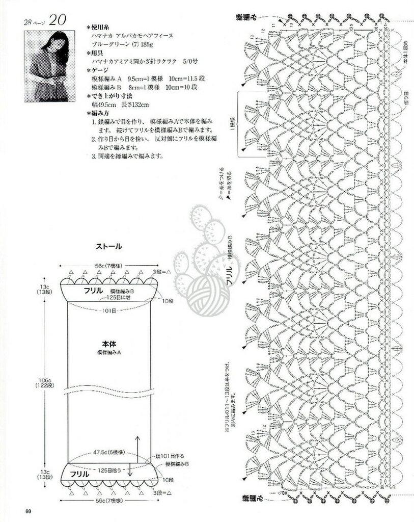 Ирина ажур вязание крючком 640