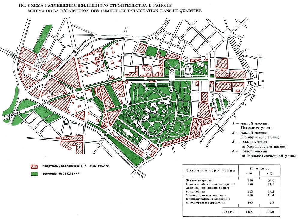 Схема размещения жилищного