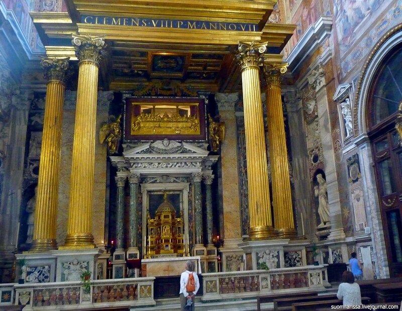 Соборы и церкви Рима. Интерьеры