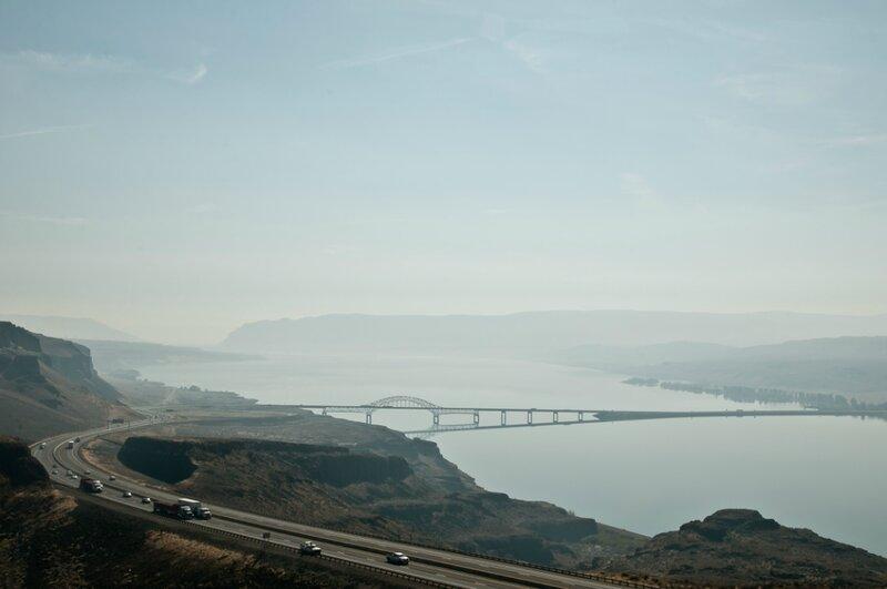 Мост и дорога