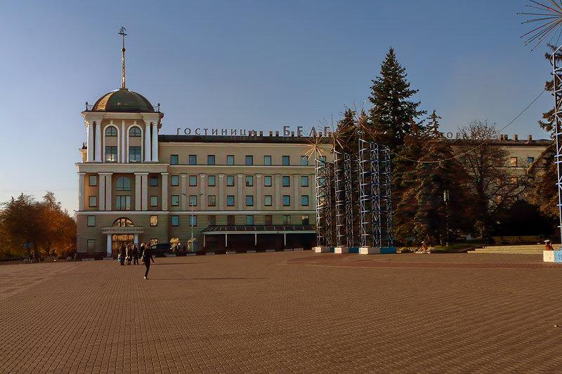 Фонтан в Новом сквере/Соборная площадь - 2012