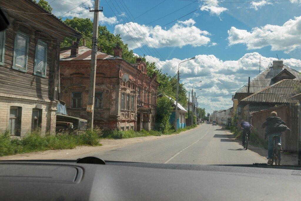 Улица в Городце