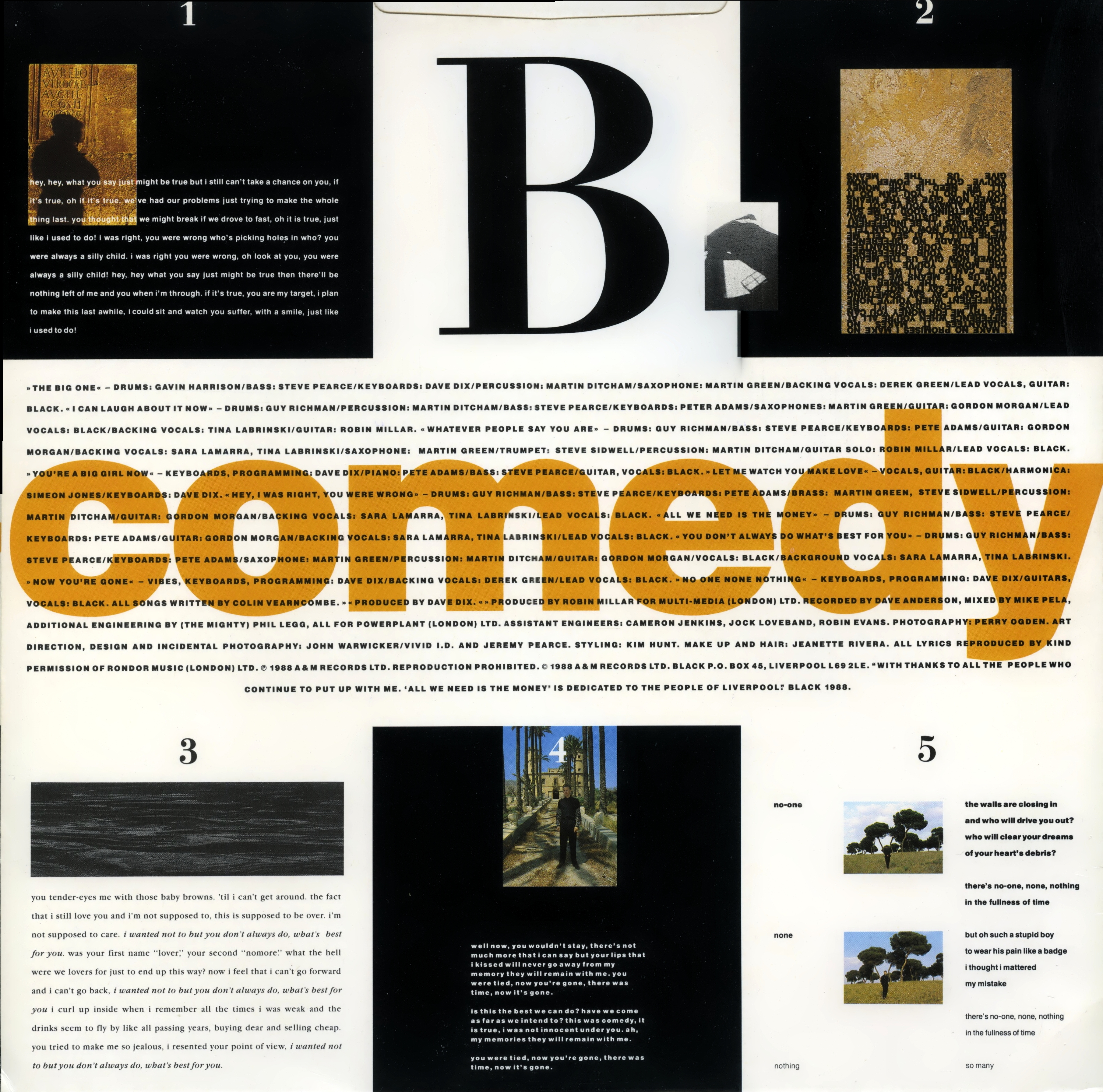 24/192] Black - Comedy - 1988 [lossless] - Все Тут Online