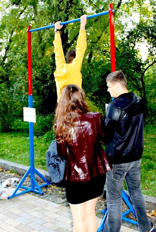 Турник - новый аттракцион в Киеве
